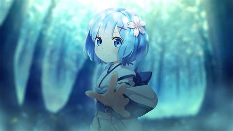 rem rezero wallpapers hd wallpapers id