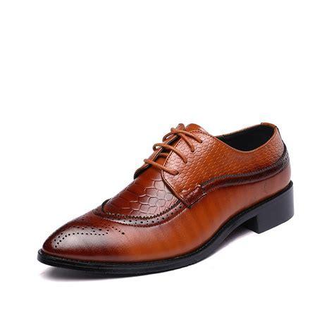 Big Size Bullock Men Dress Shoes