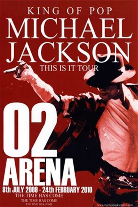 michael jackson rare concert poster      arena style  fine art print