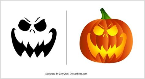 easy pumpkin carving templates free printable pumpkin stencils image king