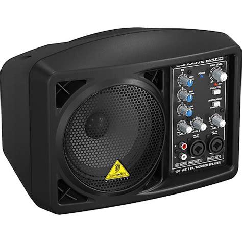 Speaker Monitor behringer eurolive b205d active pa monitor speaker black musician s friend