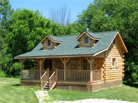 build a log cabin home amish built cabins amish built cabins west