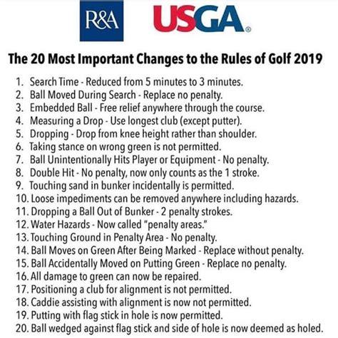 rules  golf lytham golf academy