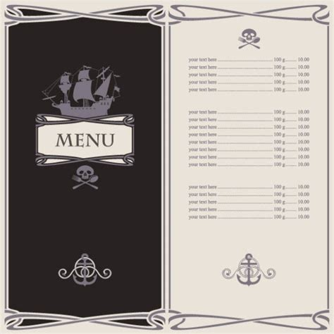 menu design eps file cartoon menus 05 vector free vector in encapsulated