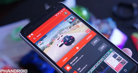 live on android gaming update lets you broadcast from your android phone