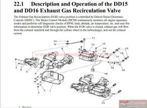 Exhaust After Treatment System Pdf Detroit Dd13 Dd15 Dd16 Exhaust Egr Aftertreatment
