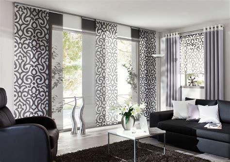 vorhang weiss eichenhaus gleitpaneele vorhang wei 223 grau ornamente