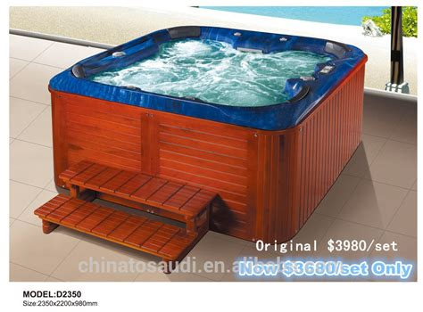Outdoor Whirlpool Tub Tub Outdoor Spa Whirlpool Bathtub Hydro Pool Spas