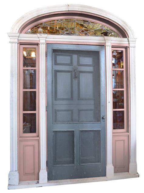 Front Door Vestibule Complete Walnut Entry Door And Paneled Vestibule Circa 1915 For Sale At 1stdibs