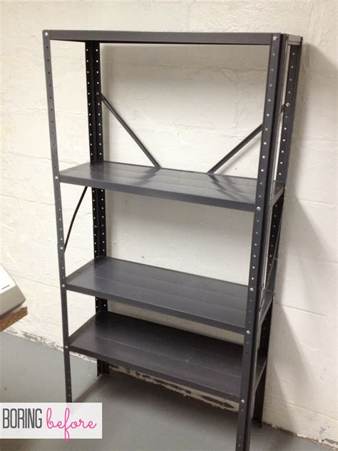 inexpensive craft room shelving classy clutter