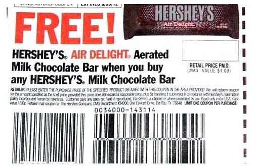 hershey chocolate chips coupon 2018
