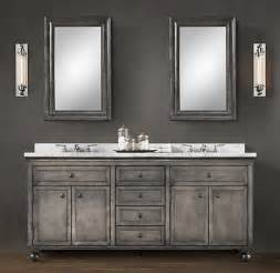 60 Vanity Restoration Hardware Bathroom Cabinets Restoration Hardware Bathroom Design
