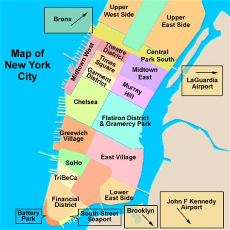 district map of nyc curiosities about new york city new york city guide