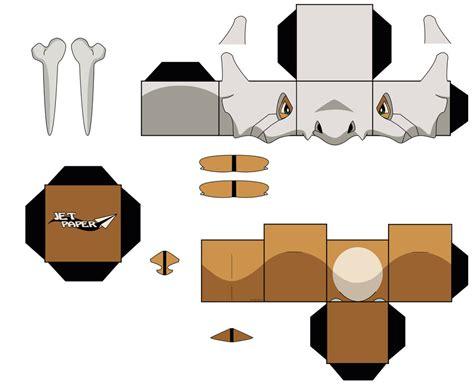 Papercraft Ornaments - cubone by jetpaper on deviantart