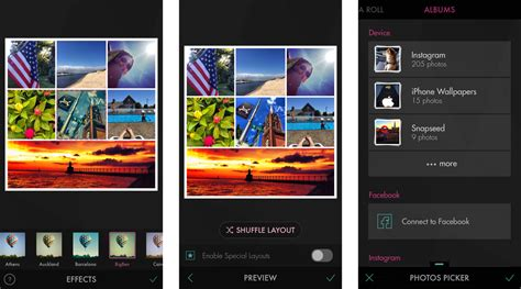 best photo app best photo collage apps for iphone and iphoto