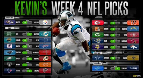 Four Predictions by 2015 Nfl Week 4 Predictions Picks And Preview