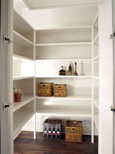 pantry lighting on shelves maybe add outlets and