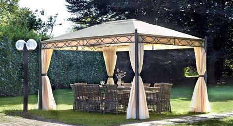 tende da gazebo gazebo 3x4 da giardino con tende laterali e zanzariere