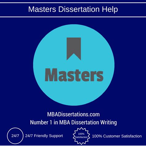 A Masters Dissertation by Masters Dissertation Help Masters Dissertation Help