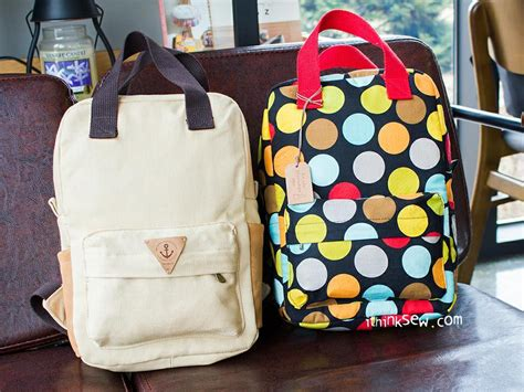 pattern sewing backpack back to school basics 7 backpack sewing patterns