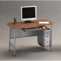 Compact Computer Desks Mayline Eastwinds Santos Small Metal Computer Desk 925
