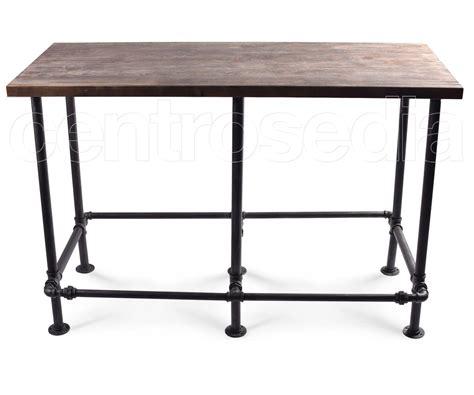 tavolo alto tavolo alto metallo piano legno tavoli alti