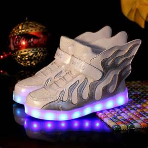 light up shoes for led yeezys light up shoes black metallic silver usb