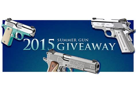Firearm Giveaways - kimber 2015 summer gun sweepstakes vote and enter for a