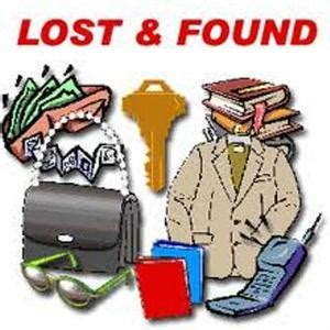 security / lost and found