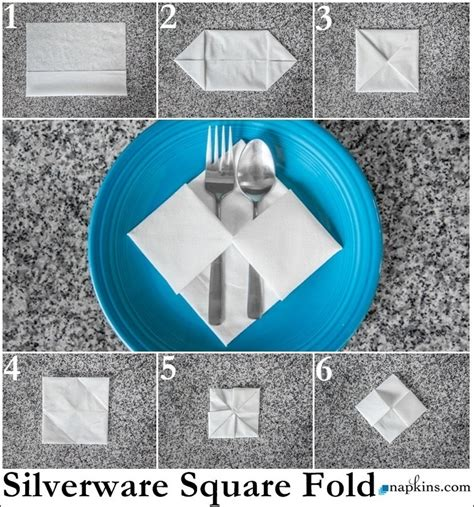 Fold Paper Napkins To Hold Silverware - 25 napkin folding techniques that will transform your
