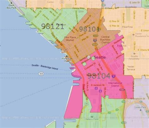 seattle zip code map downtown seattle zip code map zip code map