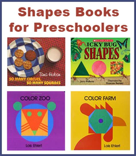 for preschoolers shapes books for preschoolers