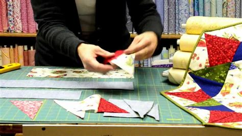 tutorial quilting indonesia quilting tutorial happy holidays table topper doovi