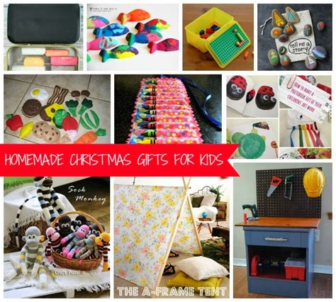 diary homemade christmas gifts for kids
