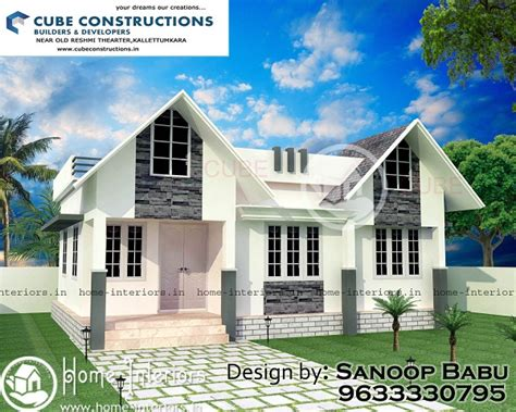 home design for 650 sq ft 650 sq ft contemporary single floor home design
