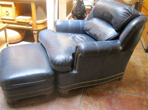 hancock and moore leather ottoman generational joy hancock moore leather club chair with