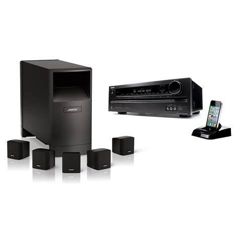 Home Theater Bose 5 1 new bose home theater system acoustimass series iii 6 speakers onkyo ht rc330 ebay