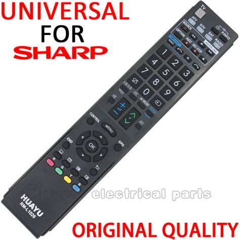 Remote Tv Sharp Aquos replacement sharp aquos lcd led remote lc