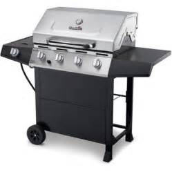 Backyard Classic Grill by Char Broil 4 Burner Gas Grill Stainless Steel Black