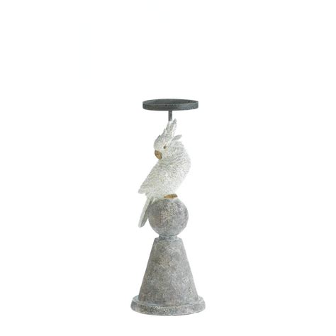 Cheap White Candle Holders White Cockatoo Candle Holder Wholesale At Koehler Home Decor