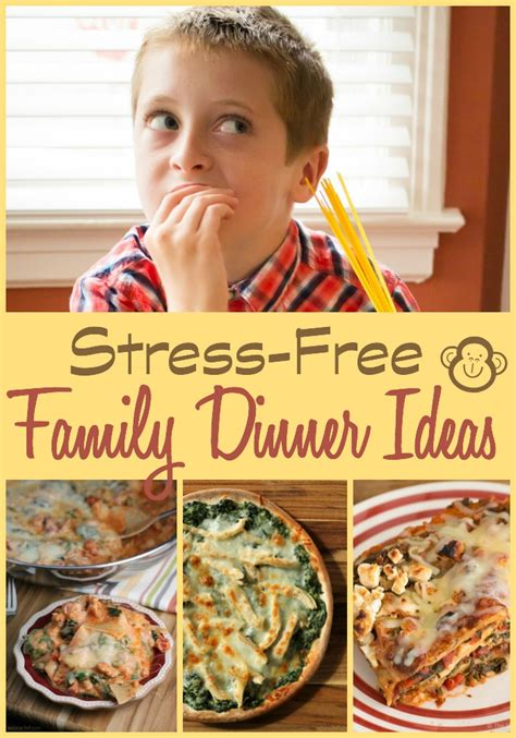 stress free dinner stress free family dinner ideas the weary chef