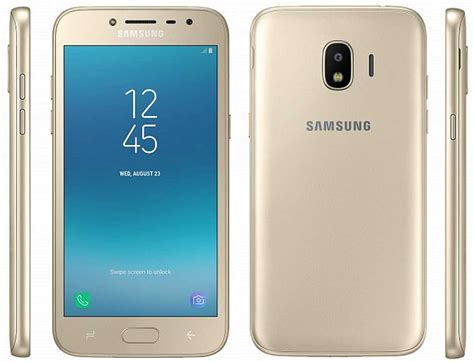 samsung galaxy j2 2018 specifications and renders leaked
