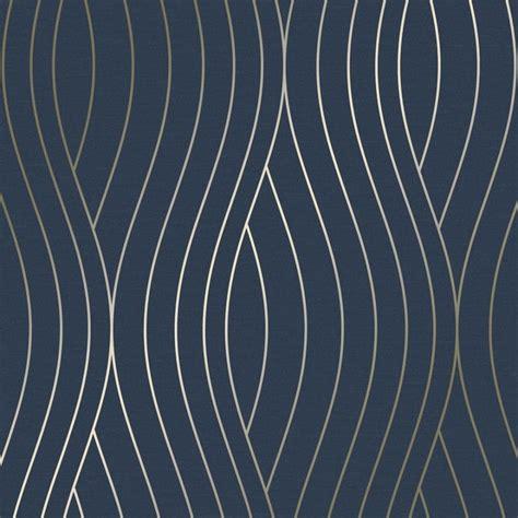 blueteal motion geo wave wallpaper navy   waves