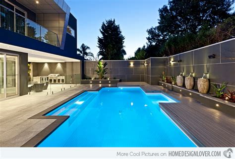 Modern Sleek Design 15 modern inground pools to love home design lover