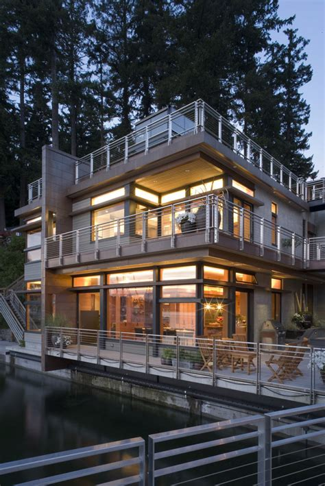 sustainable house   waters edge idesignarch