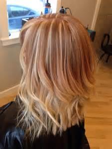 Strawberry blonde ombr 233 covetcouture salon hair pinterest