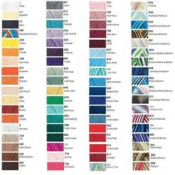 yarn color chart with yarn color chart yarn