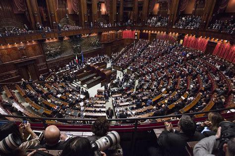 dei deputati calendario dei lavori parlamentari dal 20 al 24 ottobre