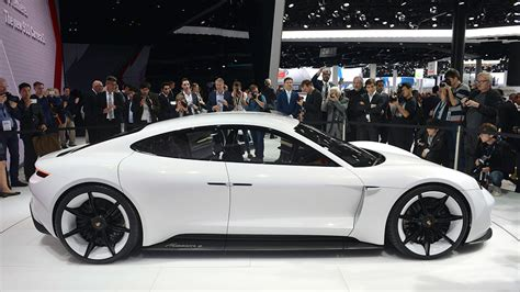 porsche mission price porsche s mission e pricing might give tesla buyers pause