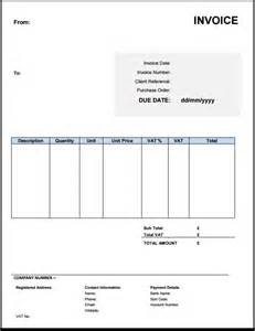 Invoicing Templates by Free Uk Invoice Templates